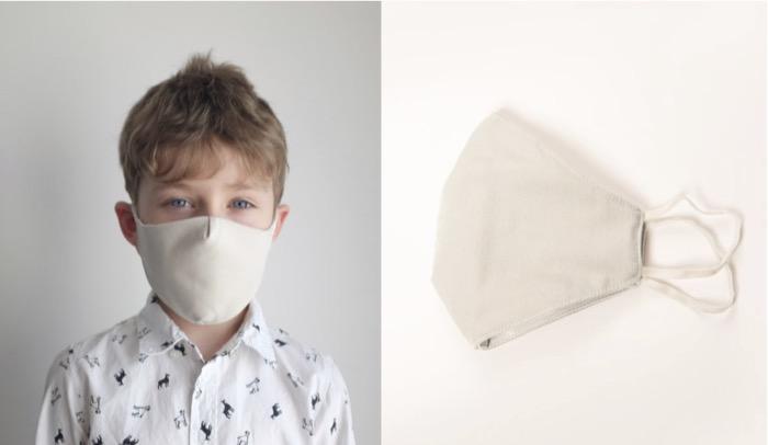 Masque coton pour Enfant aux normes AFNOR - Masque coton Oeko Tex 100 certified  MAde in CE