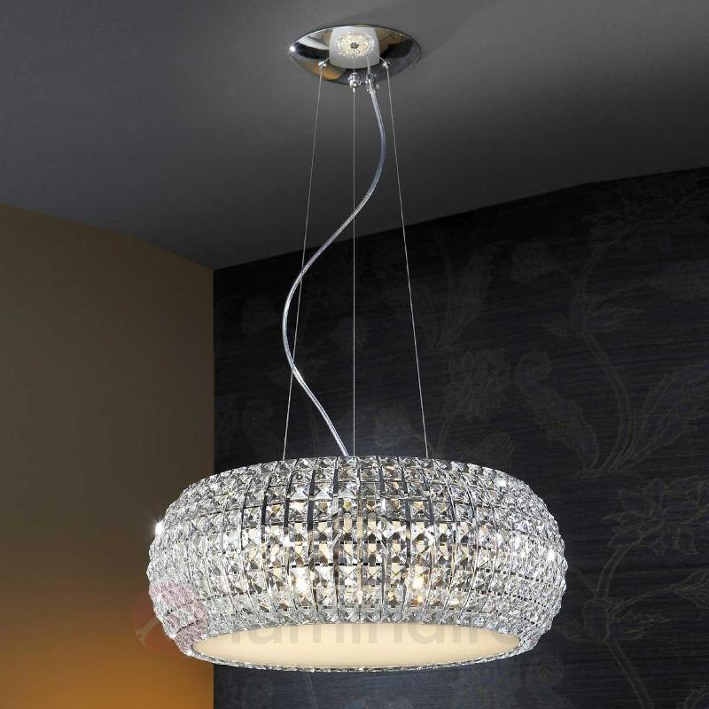 Suspension DIAMOND scintillante ronde - Suspensions en cristal