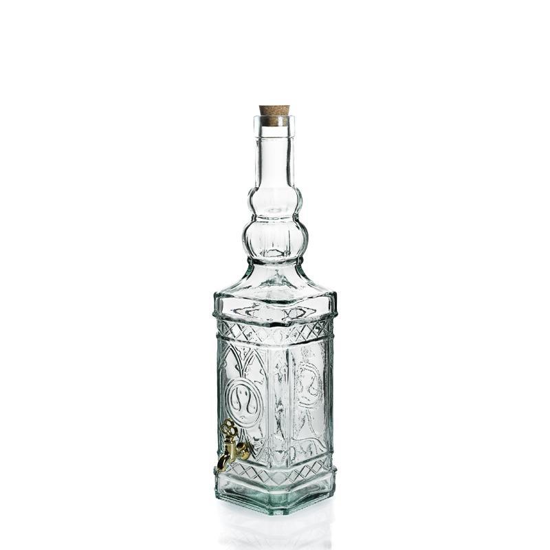 Bouteille 700 ml Miguelette en verre recyclé avec robinet - Flacons et Carafes