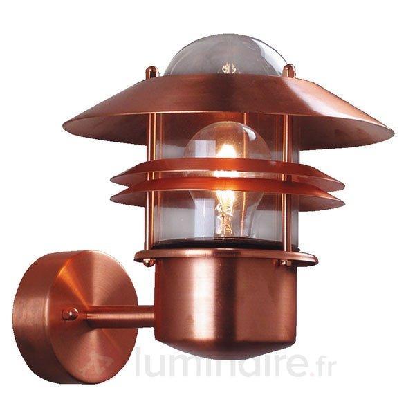 Applique BLOKHUS en cuivre - Appliques d'extérieur cuivre/laiton