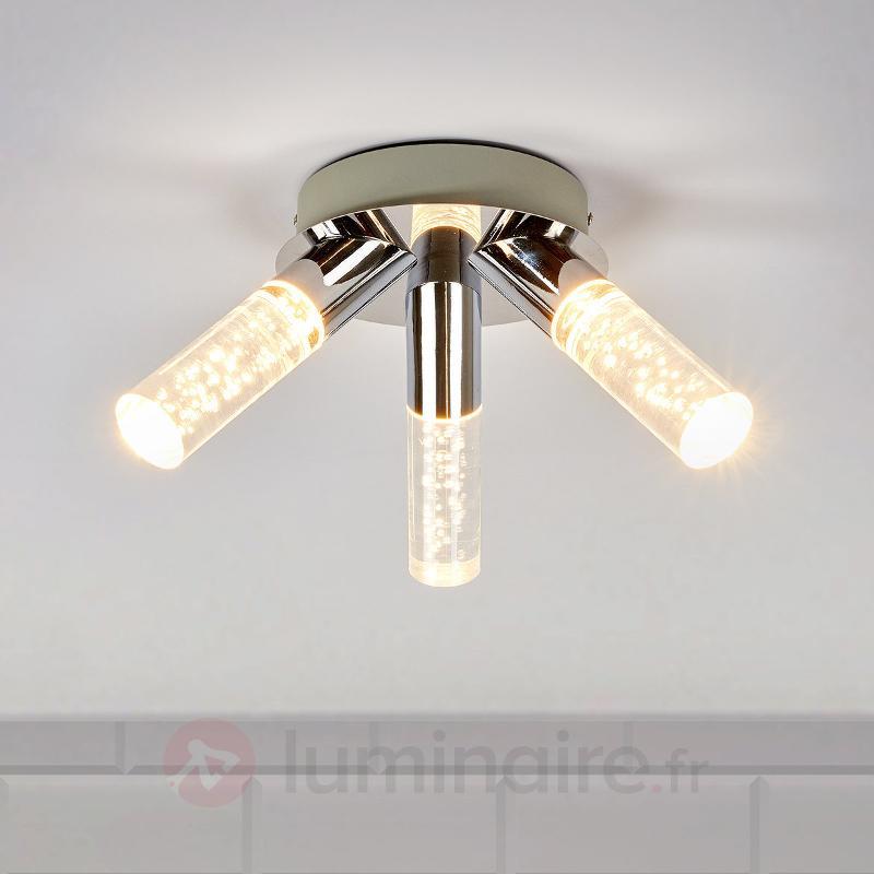 Plafonnier salle de bains LED Duncan à 3 lampes - Salle de bains