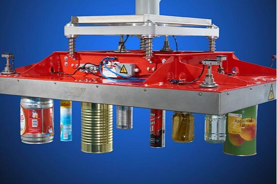 Palletizing magnets  - magnetic palletizers for cans, aerosols and jars