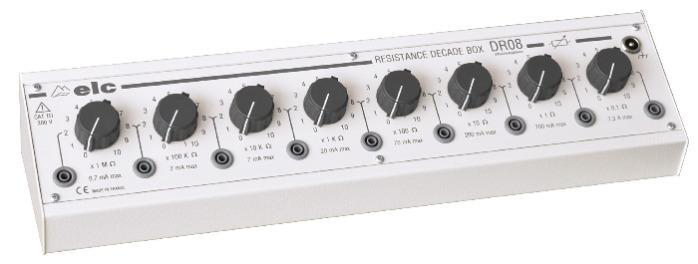 elc DR08 - Boite à décades de résistance