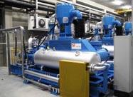 HIGH PRESSURE COMPRESSORS - High pressure PET compressor and air receiver