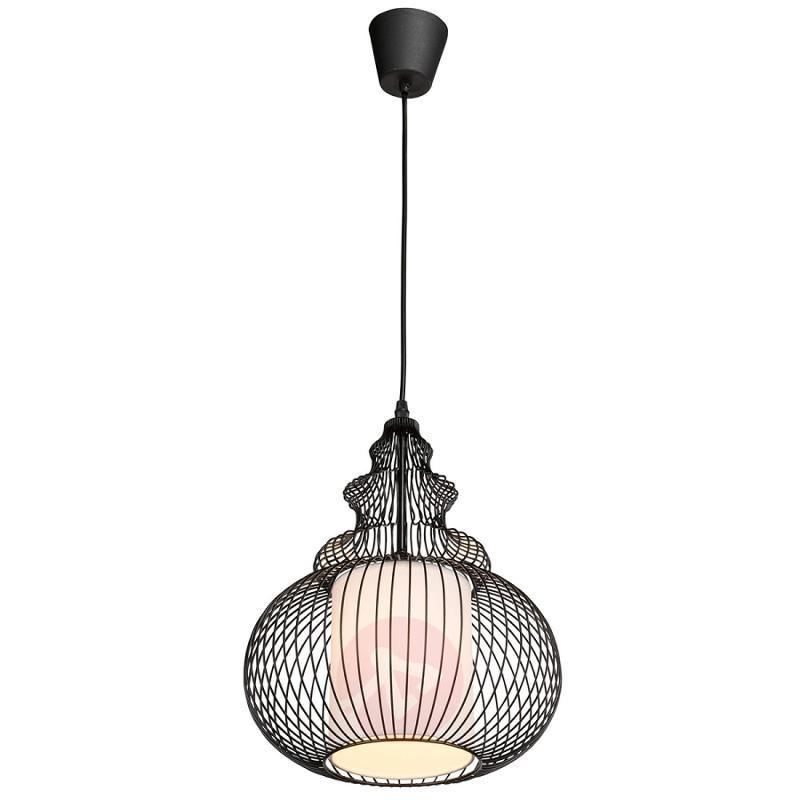 Extraordinary hanging light Robika, black - indoor-lighting