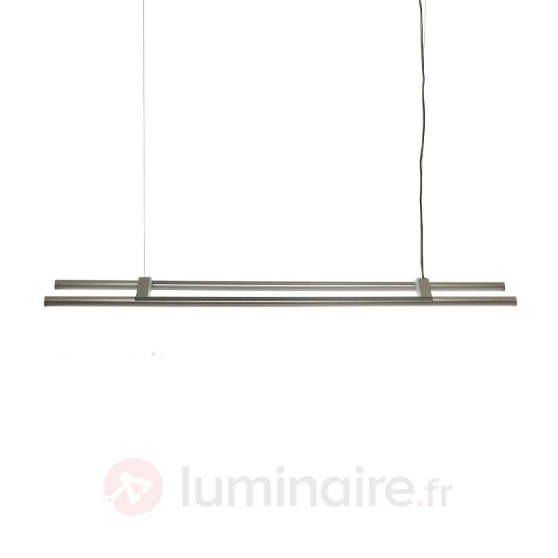 Suspension LED Aleda constituée de deux tubes - Suspensions LED