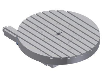 NC rotary table / horizontal - NC rotary table SKH-NC8