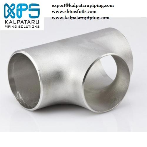 Stainless Steel 317/317L Tee - Stainless Steel 317/317L Tee