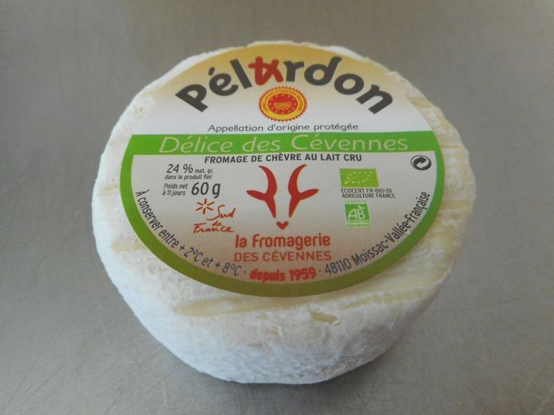 Pélardon AOP BIO x 12 - Produits laitiers