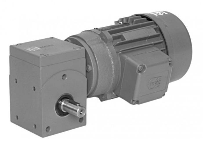 SN14 - Single-stage gear drive with solid shaft