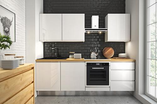 Linear kitchen -
