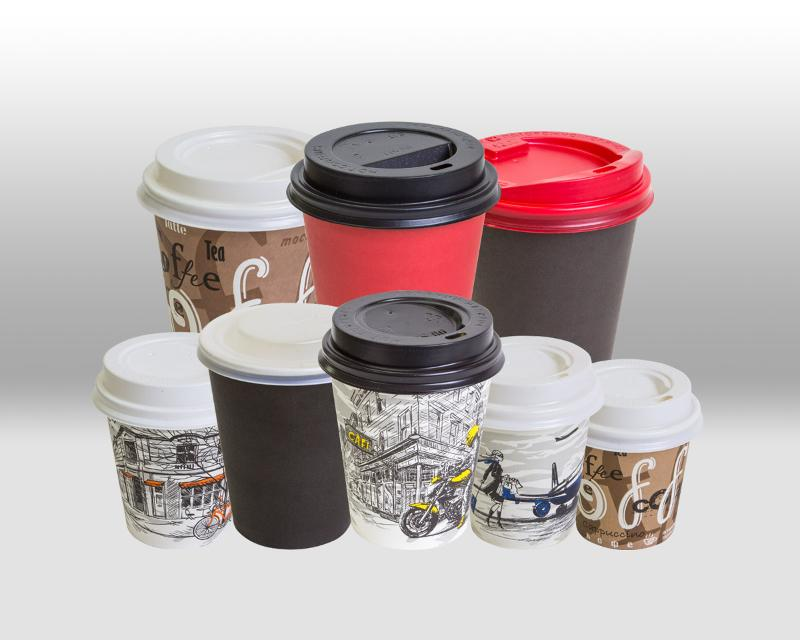 Lids for paper cups for hot beverages - ACCESSORIES