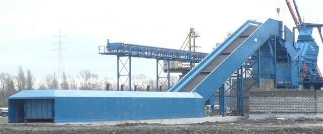 INFEED CONVEYORS FOR SCRAP AND SOLID WASTE SYSTEMS - A600