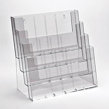 Standaard displays voor documenten - Taymar® gamma: brochurehouder: 4C330