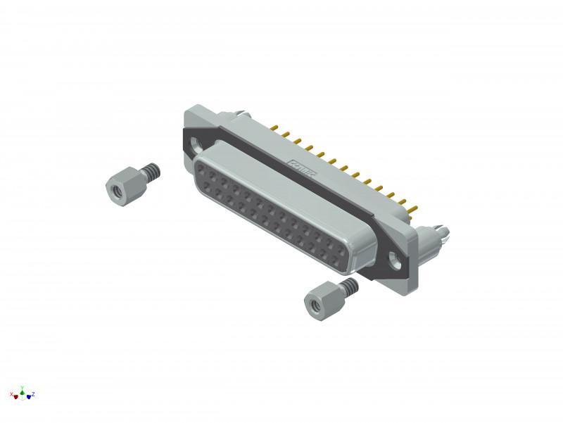 CONEC SlimCon IP67 D-SUB  Filter Connectors - CONEC SlimCon IP67 D-SUB  Filter Connectors