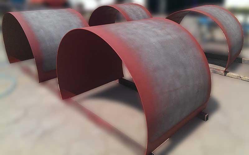 Rullende stål opp til 3000 mm lang og 25 mm tykk -