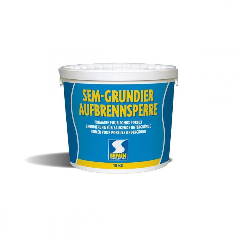 SEM GRUNDIER - Primaire pour fonds poreux. Intérieur - extérieur