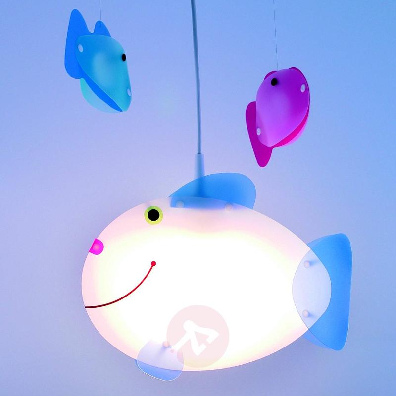 Fish Hanging Light for a Child's Room Delightful - Pendant Lighting