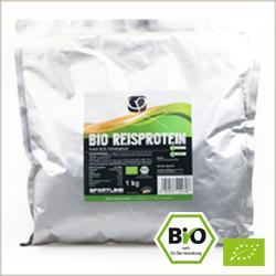 Bio Reisprotein Pulver - Fitness und Vitalität