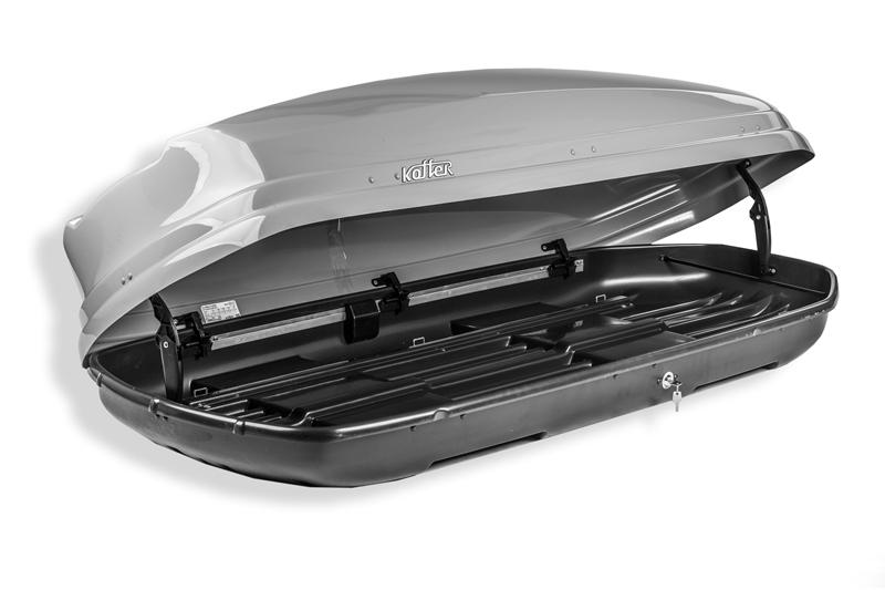Roof box Koffer A-480 - Black Glossy