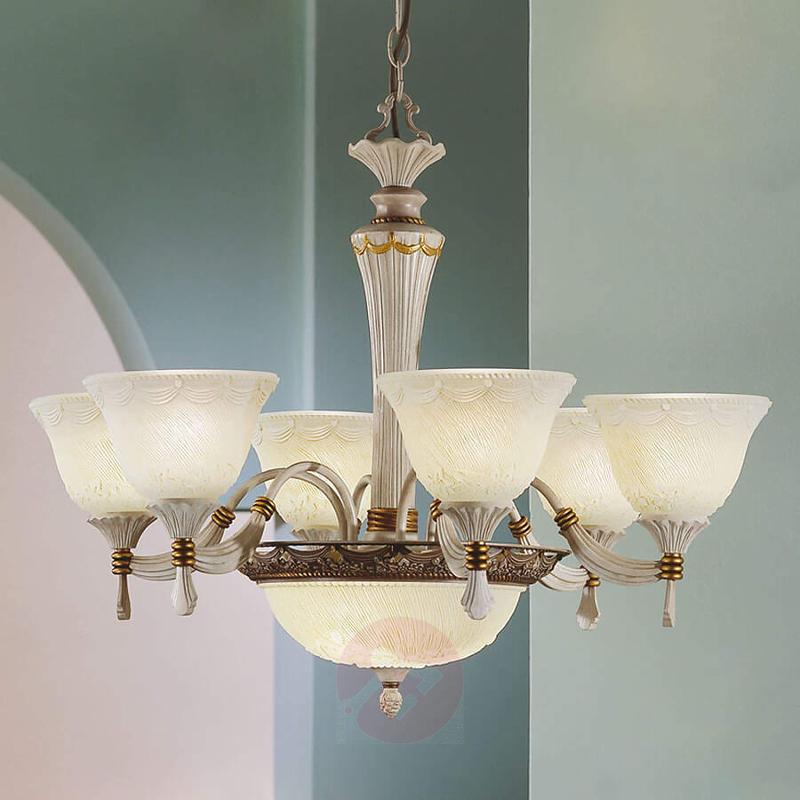 Charming chandelier VIENNA ROSE - design-hotel-lighting