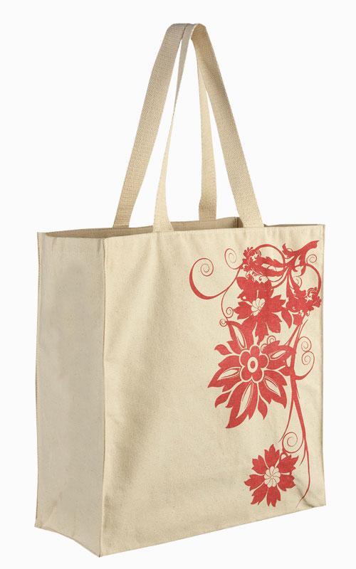 Printed cotton bag - printed canvas bag printed cotton bag printed jute bag