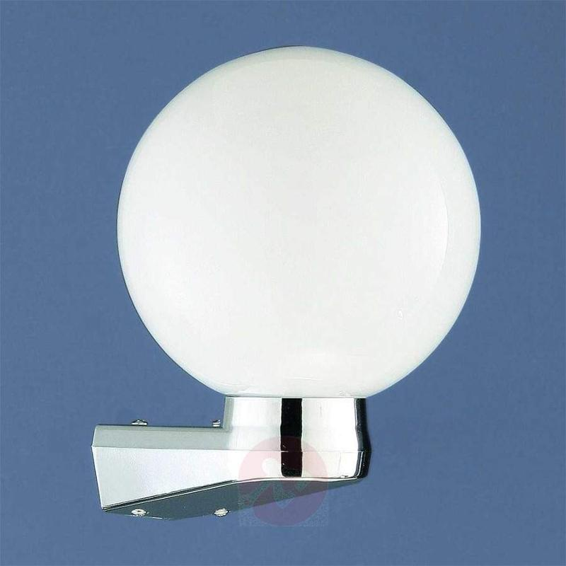 Round wall light Larissa opal - Wall Lights