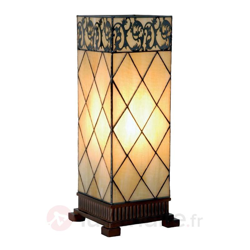 Lampe à poser Diamond style Tiffany 45 cm - Lampes à poser style Tiffany
