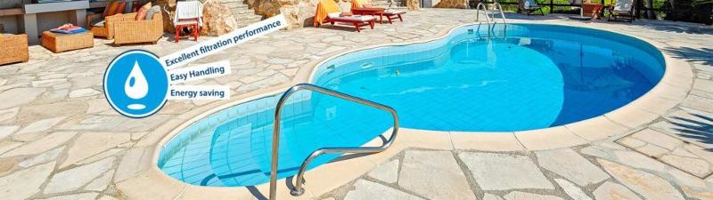 FIBALON®rope - premium pool filter in a net