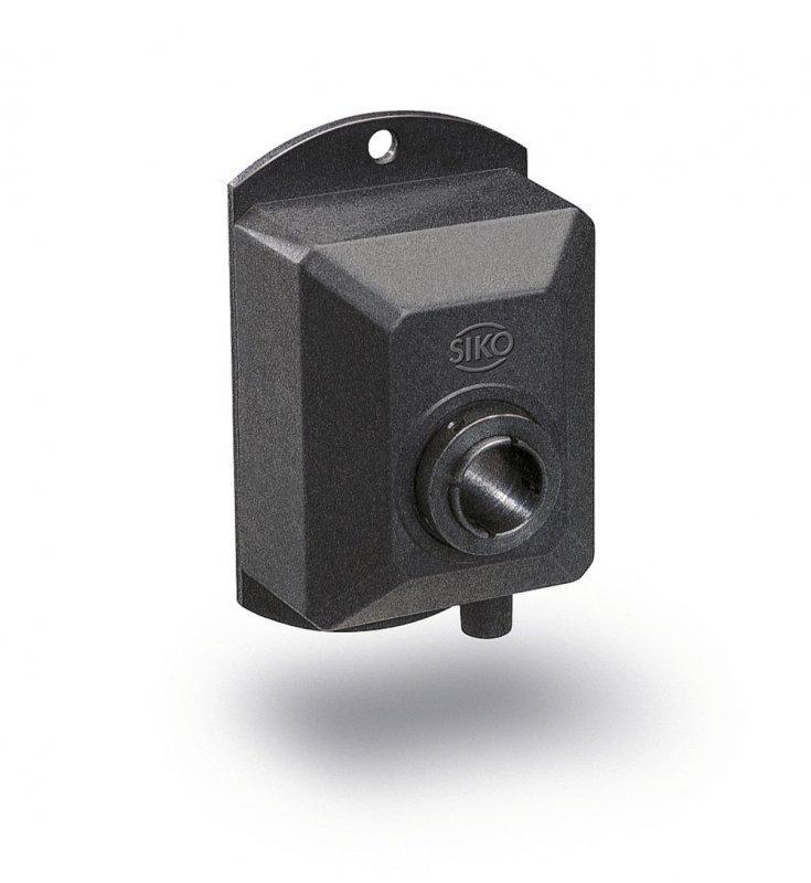 增量式编码器 IG06 - 增量式编码器 IG06, 带贯通空心轴的耐用塑料外壳