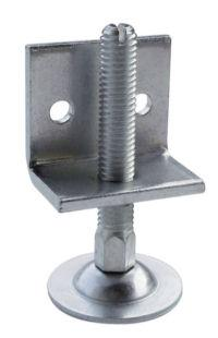 height adjuster M8 with L-bracket - null