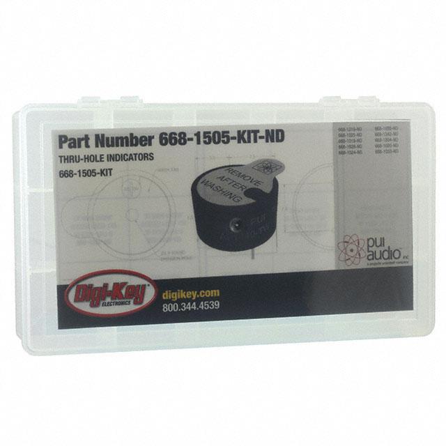 THRU-HOLE INDICATORS - PUI Audio, Inc. 668-1505-KIT