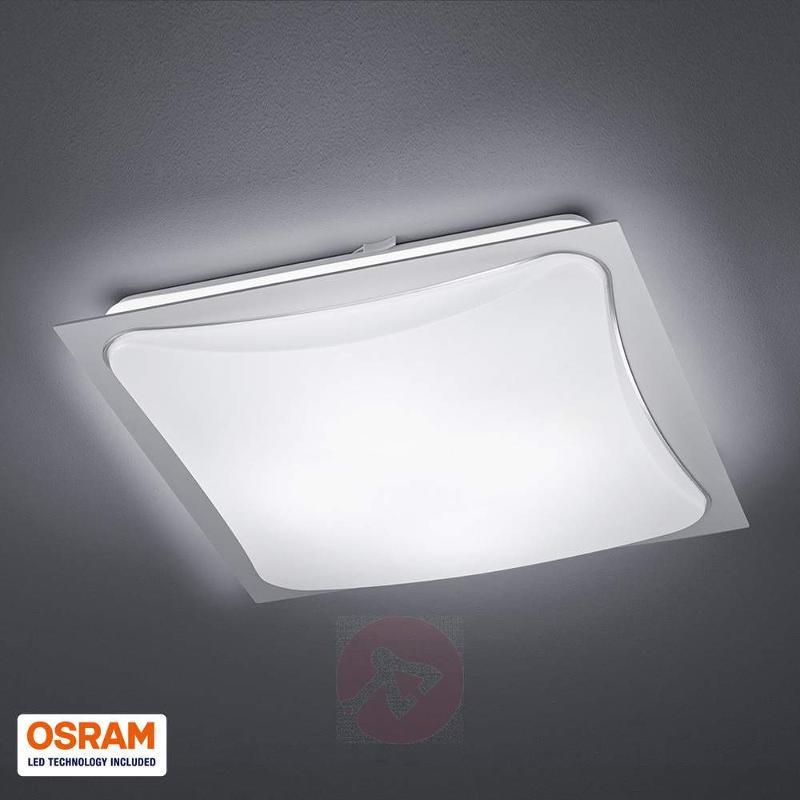 LED ceiling light Cornet in grey - Ceiling Lights