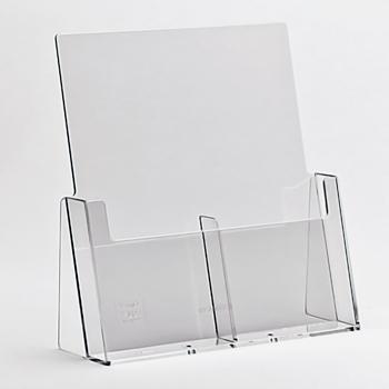 Standaard displays voor documenten - Taymar® gamma: brochurehouder: 2C112
