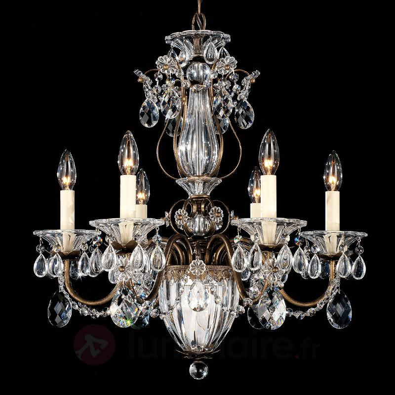 Lustre d'aspect ancien Bagatelle - Lustres en cristal