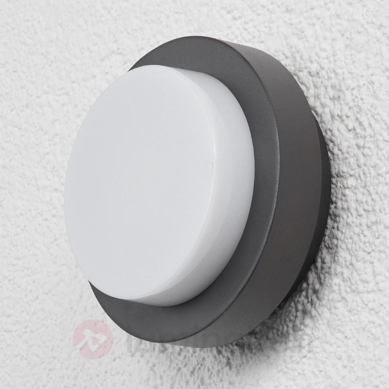Applique circulaire extérieure LED Gwen - Appliques d'extérieur LED
