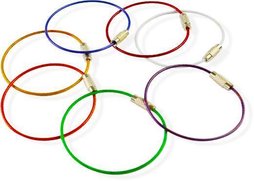 Kabel nyckelring