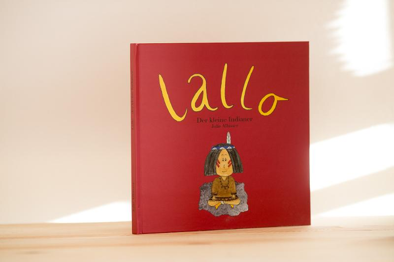 Lallo – book for kids - Books for kids Hardcover book
