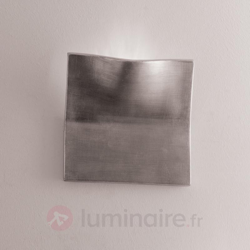 Plafonnier de cristal Jevana laiton ancien - Plafonniers en cristal