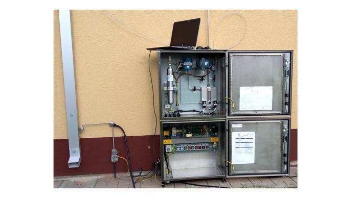 Gas analysis - Mobile gas sampler  -