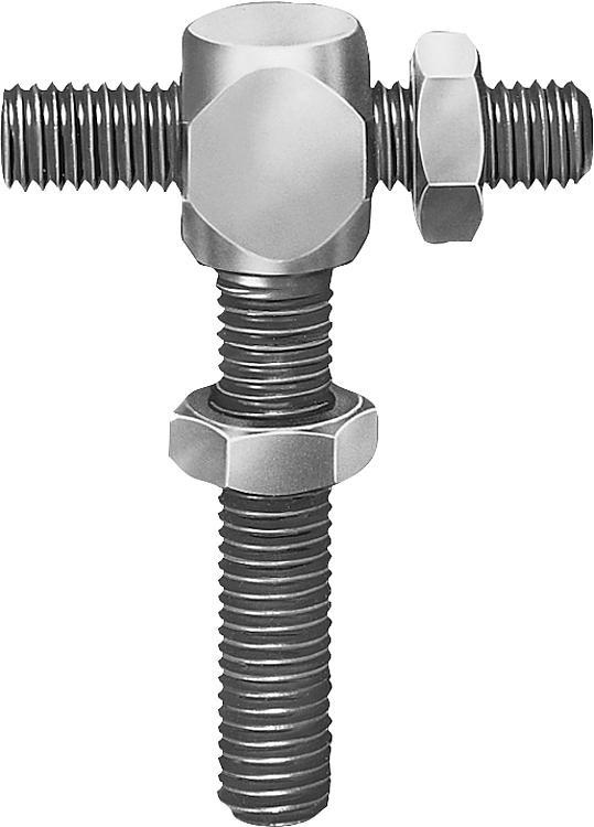 Screw Stops, Adjustable - Spring plungers Indexing plungers Stops Centring/positioning components Ball loc