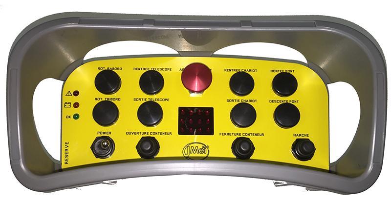 Radiocommande type pupitre ventral universel - RCB3000