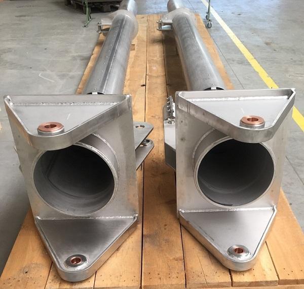 teleskopy ze stali nierdzewnej  - spawane konstrukcje dla przemysłu morskiego