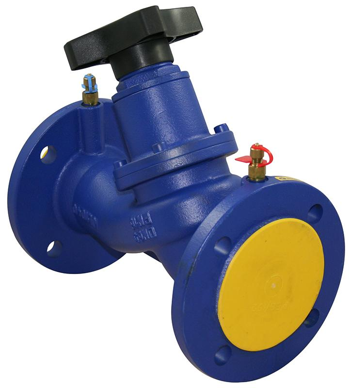 Double Regulating Balancing Valve