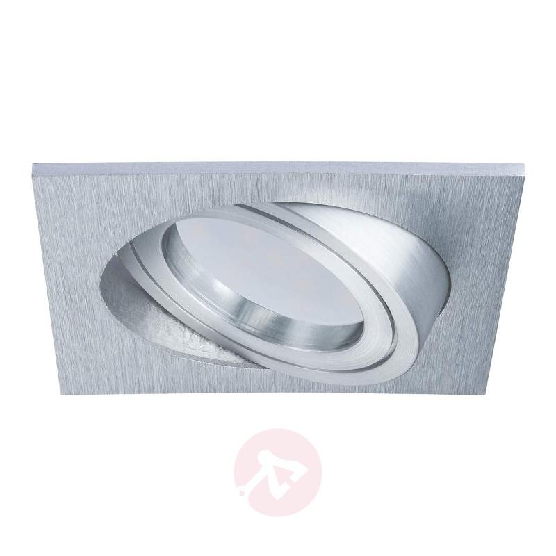 Square LED recessed light Coin IP23 - Recessed Spotlights