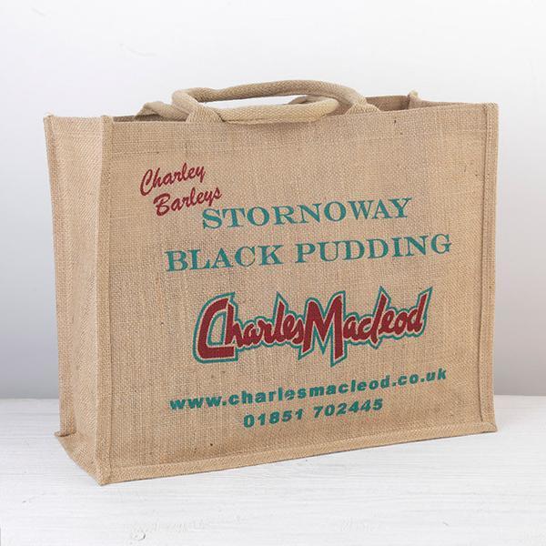Jute Shopping Tote Bag - Jute Grocery Tote Bags, Jute Shopping Bags, Jute Promotional Bags