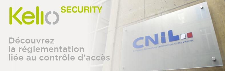 Contrôle d'accès et CNIL