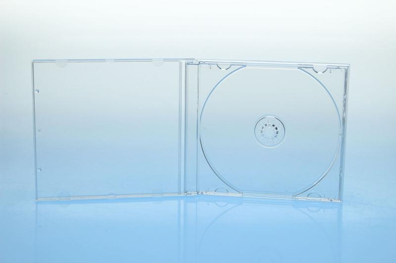 CD Jewelcase - unmontiert - kartoniert - Jewelboxen & Trays