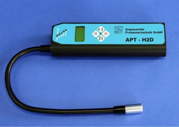 Leak detection unit APT-H2D - Leak detection with tracer gas