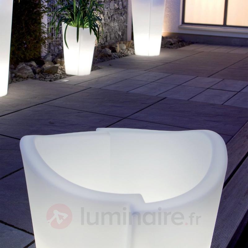 Pot de fleurs de qualité TULPE - Lampes d'extérieur design
